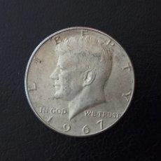 Monedas antiguas de América: 1/2 DOLAR PLATA 1967 KENNEDY. Lote 177705817