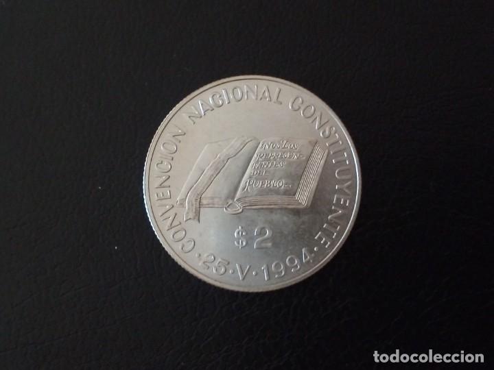 2 PESOS PLATA 1994 ARGENTINA CONVENCION NACIONAL CONSTITUYENTE (Numismática - Extranjeras - América)