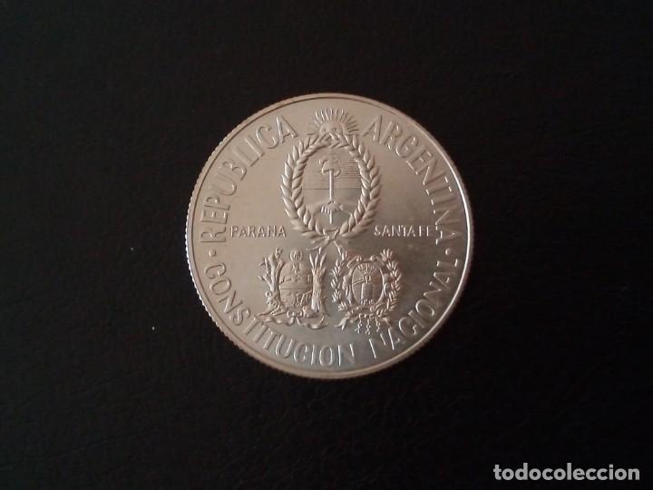 Monedas antiguas de América: 2 PESOS PLATA 1994 ARGENTINA CONVENCION NACIONAL CONSTITUYENTE - Foto 2 - 177738792