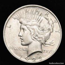 Monedas antiguas de América: USA, 1 DOLAR DE PLATA. FILADELFIA, 1923. TIPO PAZ.. Lote 178139993