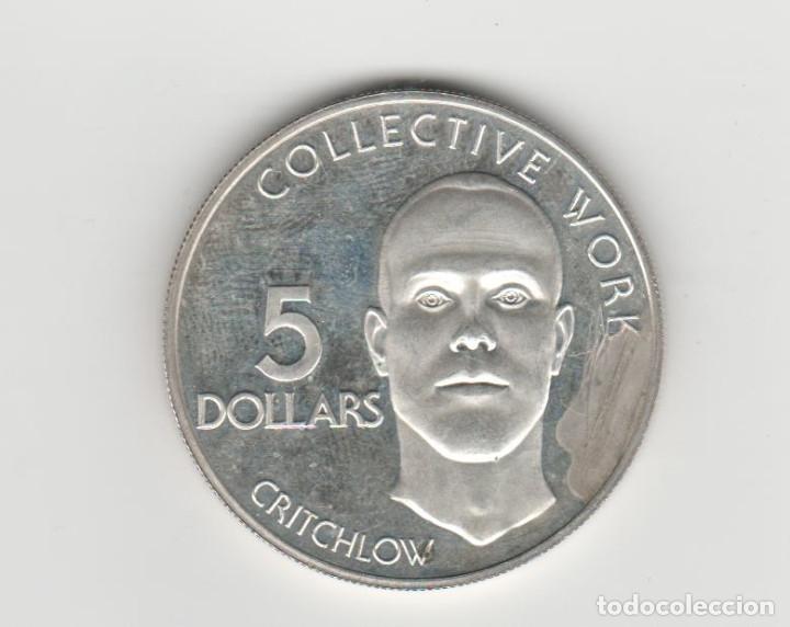 Monedas antiguas de América: GUYANA- 5 DOLARES-1976-PLATA-PROF - Foto 2 - 178245831