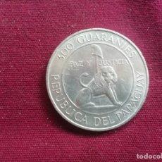 Monedas antiguas de América: PARAGUAY.300 GUARANÍES.1973.PLATA. Lote 178306668