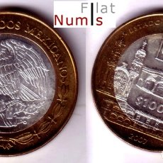 Monedas antiguas de América: MEJICO - 100 PESOS - 2007 - TLAXCALA - NO CIRCULADA. Lote 178357758