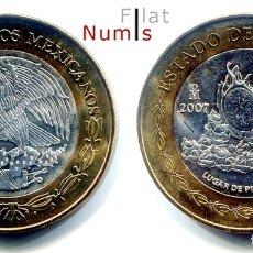 Monedas antiguas de América: MEJICO - 100 PESOS - 2007 - SINALOA - NO CIRCULADA. Lote 178358016