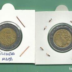 Monedas antiguas de América: MÉXICO. 5 PESOS 2010. FILOMENO MATA. BIMETÁLICA. Lote 178726770