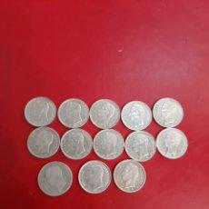 Monedas antiguas de América: LOTE MONEDAS VENEZUELA PLATA 13 MONEDAS. Lote 178791956