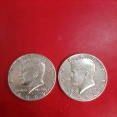 Monedas antiguas de América: 1964/1969 ESTADOS UNIDOS DE AMÉRICA 1/2 DÓLAR PLATA KENNEDY. Lote 178801926