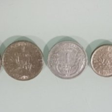 Monedas antiguas de América: LOTE MONEDAS INTERNACIONALES EUROPA Y AMERICA. Lote 178878923