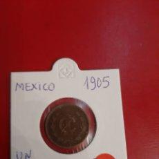Monedas antiguas de América: 1905 MÉXICO UN CENTAVO. Lote 178884716