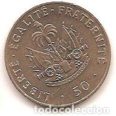 Monedas antiguas de América: HAITI,50 CENTIMES 1991.. Lote 178971366