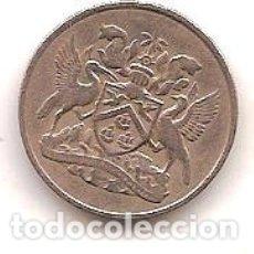 Monedas antiguas de América: TRINIDAD Y TOBAGO,25 CENTS 1966.. Lote 178971991