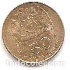 Monedas antiguas de América: CHILE,50 CENTIMOS 1971.. Lote 178972871
