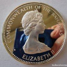 Monedas antiguas de América: BAHAMAS . 10 DOLARES DE PLATA ANTIGUOS . GRAN TAMAÑO Y PESO . 49,75 GRAMOS. Lote 179005646