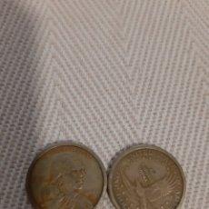 Monedas antiguas de América: 2 MONEDAS ESTADOS UNIDOS. Lote 179024068