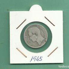 Monedas antiguas de América: PLATA-VENEZUELA: 1 BOLIVAR 1945. 5 GRAMOS DE LEY 0,835. MBC. Lote 179143245