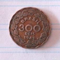 Monedas antiguas de América: 300 REIS 1942 BRAZIL. Lote 179198407