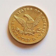 Monedas antiguas de América: 10 DOLLARS 1838 EAGLE LIBERTY ESTADOS UNIDOS. Lote 179314281