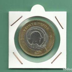 Monedas antiguas de América: MEXICO. 20 PESOS 2013. 100 AÑOS DEL EJERCITO MEXICANO. BIMETÁLICA. Lote 179337972