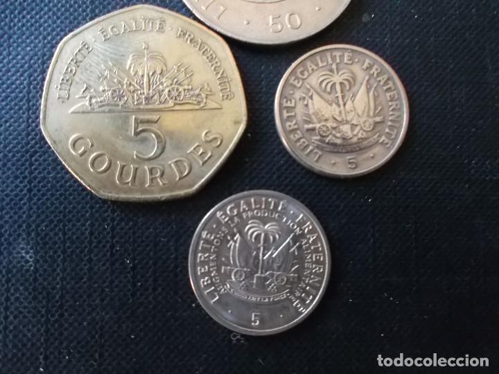 Monedas antiguas de América: conjunto de monedas de Haiti dificiles - Foto 6 - 159934566