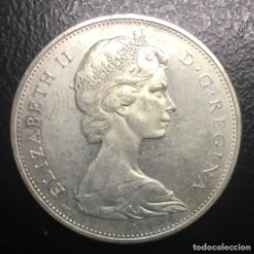 Monedas antiguas de América: CANADÁ UN DÓLAR 1965. Lote 179930456