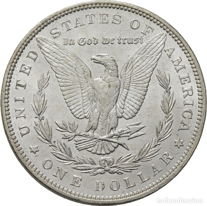 Monedas antiguas de América: Estados Unidos , Morgan dolar, Filadelfia 1887, preciosa - Foto 2 - 173603717