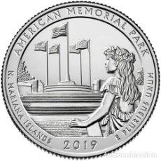 Monedas antiguas de América: USA 2019 1/4 DE DOLAR AMERICAN MEMORIAL PARK P. Lote 180261512