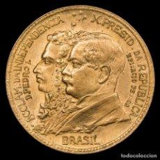 Monedas antiguas de América: BRASIL 1000 REIS 1922 CENTENARIO INDEPENDENCIA D.PEDRO I. E. PESSOA. Lote 180269773