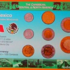 Monedas antiguas de América: MEXICO, SET DE MONEDAS.. Lote 180444875