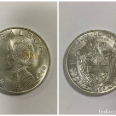 Monedas antiguas de América: PANAMÁ. REPUBLICA DE PANAMÁ. UN BALBOA. PLATA 0.900 - 26.73 GR. AÑO 1966. . Lote 180446835