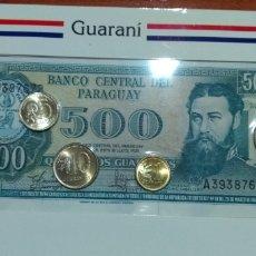 Monedas antiguas de América: MONEDAS ( SERIE BILLETE Y MONEDAS PARAGUAY ). MÁS MONEDAS ANTIGUAS EN MI PERFIL.. Lote 180890605