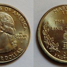 Monedas antiguas de América: USA. QUARTER DOLLAR 2000. ERROR.. Lote 181855336
