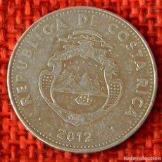 Monnaies anciennes d'Amérique: COSTA RICA – 5 COLONES – 2012. Lote 182197416