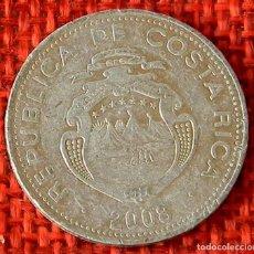 Monnaies anciennes d'Amérique: COSTA RICA – 5 COLONES – 2008. Lote 182197457
