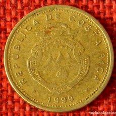 Monnaies anciennes d'Amérique: COSTA RICA – 10 COLONES – 1999. Lote 182197603