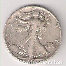 Monedas antiguas de América: MONEDA DE MEDIO (1/2) DÓLAR DE ESTADOS UNIDOS DE 1943. PLATA. BC- (ME1235). Lote 182280141