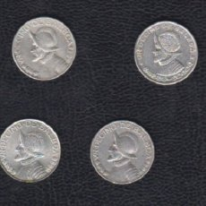 Monedas antiguas de América: PANAMA. 1/10 BALBOA. LOTE DE 6 MONEDAS DE PLATA.. Lote 182472561