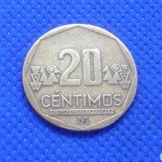 Monete antiche di America: PERU 20 CENTIMOS 2004. Lote 182502430