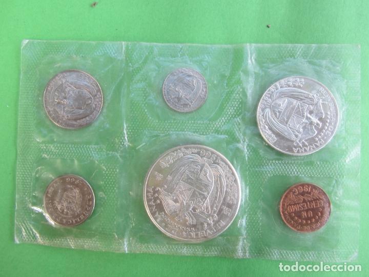 Monedas antiguas de América: republica de panama 1966 , set completo de 6 monedas de balboa , plata - Foto 2 - 182529640
