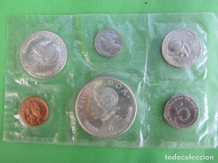 REPUBLICA DE PANAMA 1966 , SET COMPLETO DE 6 MONEDAS DE BALBOA , PLATA (Numismática - Extranjeras - América)