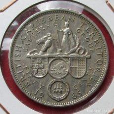 Monedas antiguas de América: CARIBE DEL ESTE. MONEDA DE 50 CENTS. 1965.. Lote 182583435