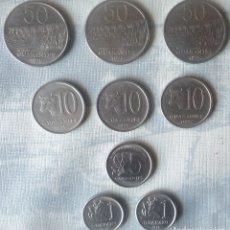 Monedas antiguas de América: LOTE DE 9 MONEDAS DE PARAGUAY. Lote 182600420