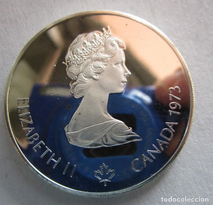 Monedas antiguas de América: CANADA 1973 . 5 DOLARES DE PLATA . XXI OLIMPIADA DE MONTREAL .TOTALMENTE NUEVA - Foto 2 - 182671793