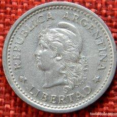Monnaies anciennes d'Amérique: ARGENTINA – 1 PESO – 1957 – LIBERTAD . Lote 182990962