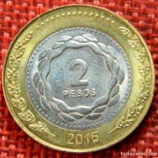 Monnaies anciennes d'Amérique: ARGENTINA – 2 PESOS – 2015 – EN UNIÓN Y LIBERTAD. Lote 182991306