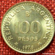 Monnaies anciennes d'Amérique: ARGENTINA – 100 PESOS – 1978 – GENERAL JOSE DE SAN MARTIN. Lote 182993381