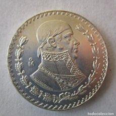 Monedas antiguas de América: MEXICO . 1 PESO DE PLATA MUY ANTIGUO. AÑO 1961 . TOTALMENTE SIN CIRCULAR. Lote 183055110