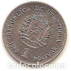 Monedas antiguas de América: VENEZUELA,1 BOLIVAR 1989.. Lote 183204020