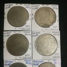 Monedas antiguas de América: LOS 6 ÚLTIMOS DÓLARES CORRELATIVOS ..... Lote 183220397