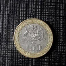 Monedas antiguas de América: CHILE 100 PESOS 2012 KM236. Lote 183474598