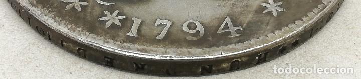 Monedas antiguas de América: RÉPLICA Moneda 1794. 1 Dólar. Estados Unidos de América. USA. Canto labrado. Rara - Foto 2 - 183566325